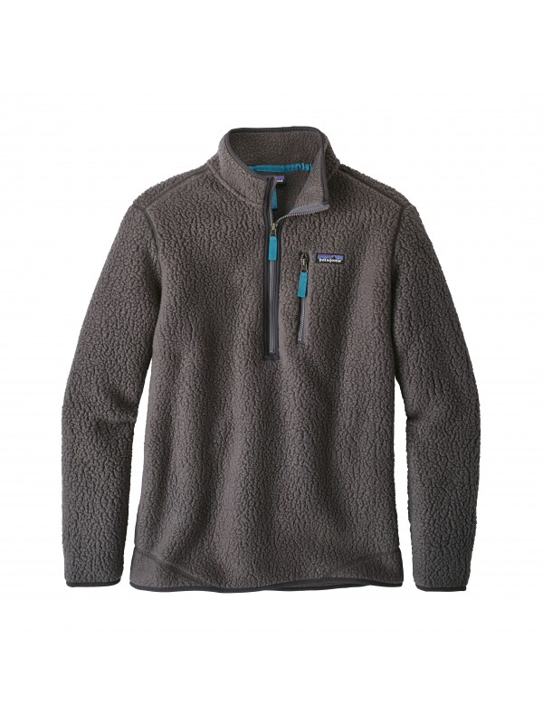 Patagonia Forge Grey Retro Pile Fleece Pullover