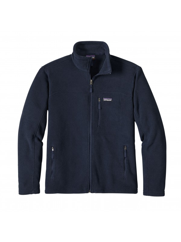 Patagonia Men's Navy Blue Classic Synchilla Fleece Jacket