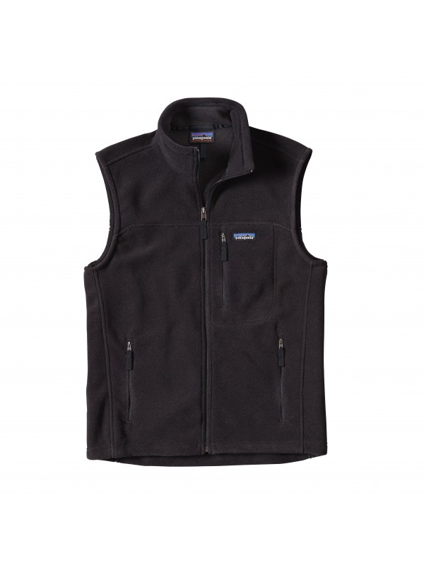Patagonia Men's Classic Synchilla Fleece Vest : Black