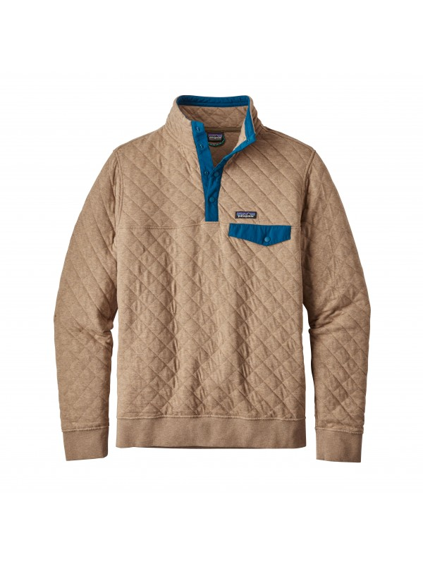 Patagonia Mojave Khaki Cotton Quilt Snap-T® Pullover