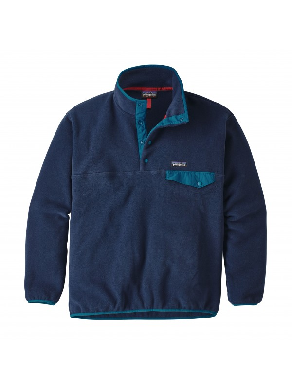 Patagonia Navy Blue Synchilla® Snap-T Fleece Pullover