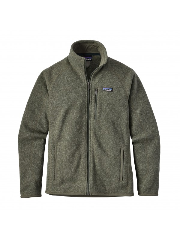 Patagonia Mens Better Sweater Fleece Jacket : Industrial Green