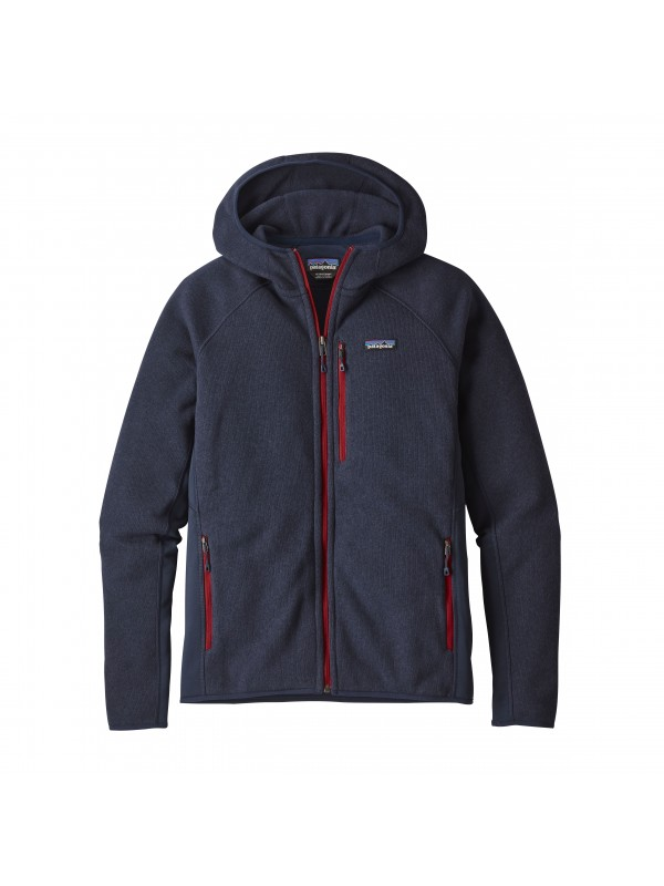 Patagonia Men's Performance Better Sweater Fleece Hoody : Navy Blue