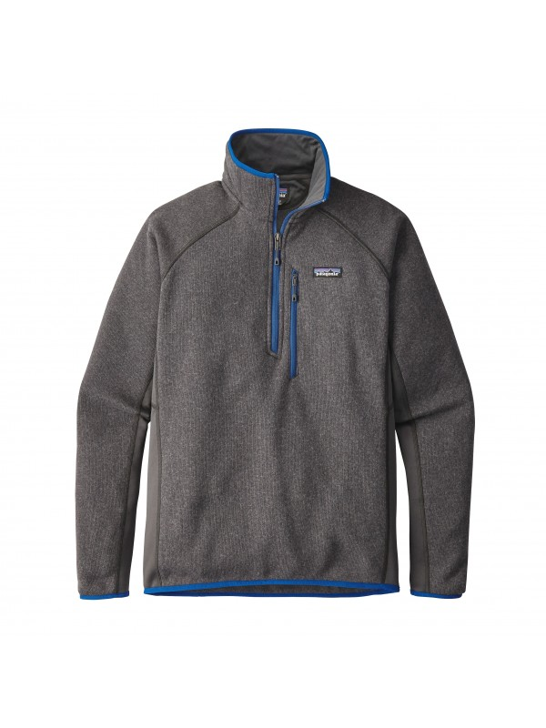 Patagonia Performance Better Sweater™ Fleece 1/4-Zip : Forge Grey