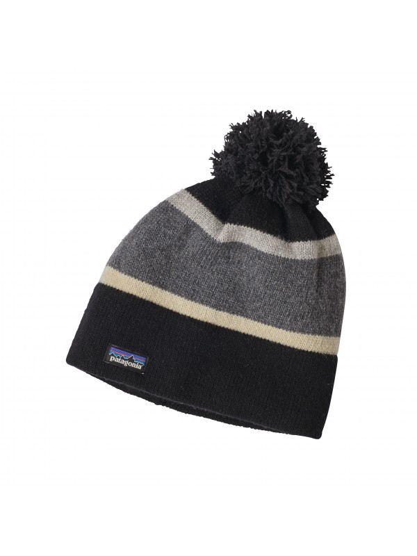 Patagonia Vintage Town Beanie - Scaler Stripe: Feather Grey