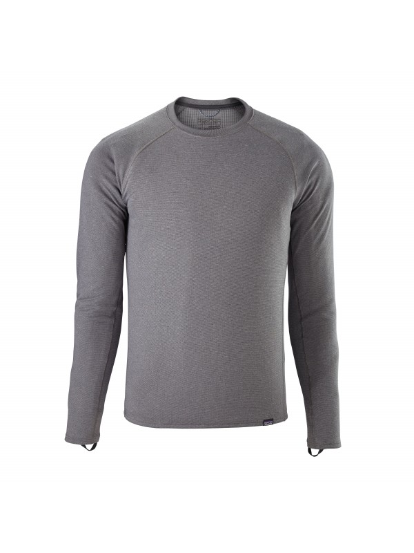 Patagonia Mens Forge Grey / Feather Grey Capilene Midweight Crew