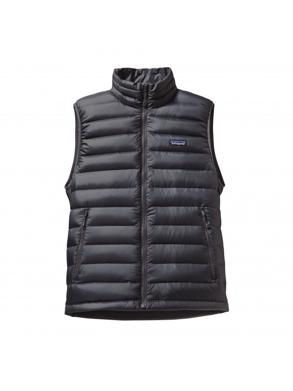 Patagonia Mens Down Sweater Vest : Forge Grey