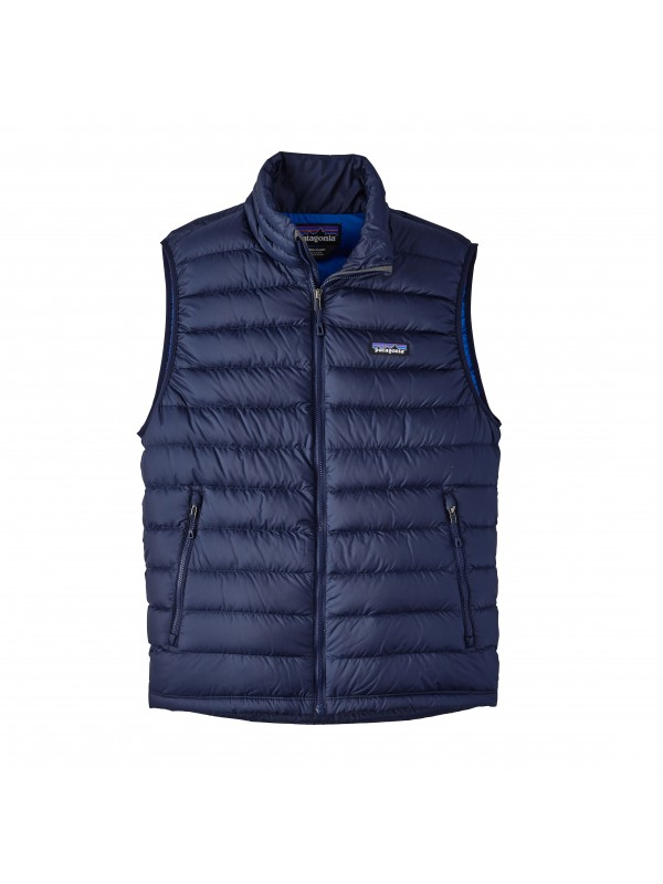 Patagonia Men's Down Sweater Vest : Navy Blue