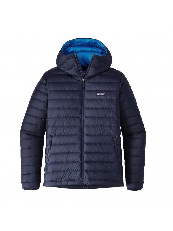 Patagonia Navy Blue Down Sweater Hoody
