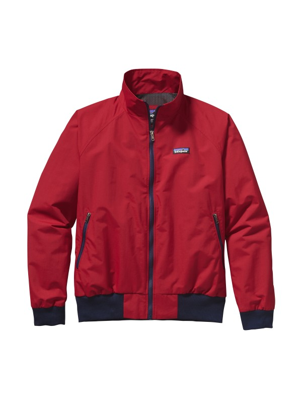 Patagonia Mens Baggies Jacket : Classic Red