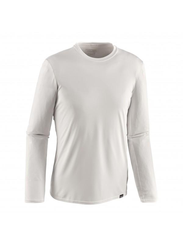 Patagonia Men's White Capilene Daily Long-Sleeved T-Shirt