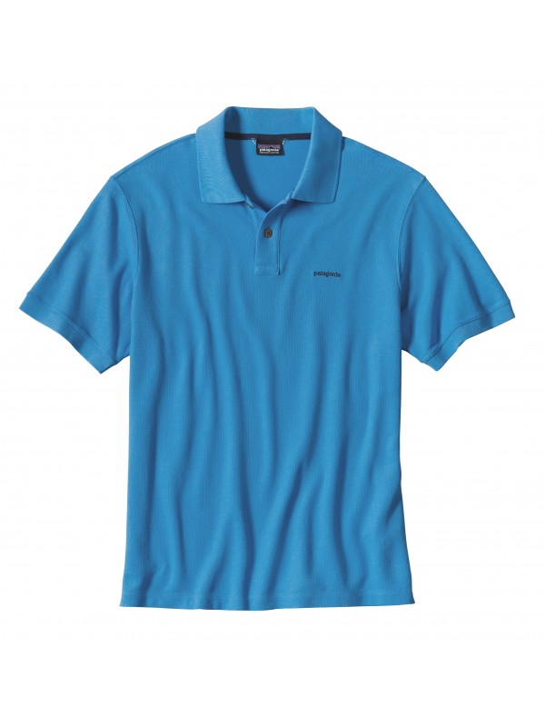 Patagonia Men's Radar Blue Belwe Pique Polo