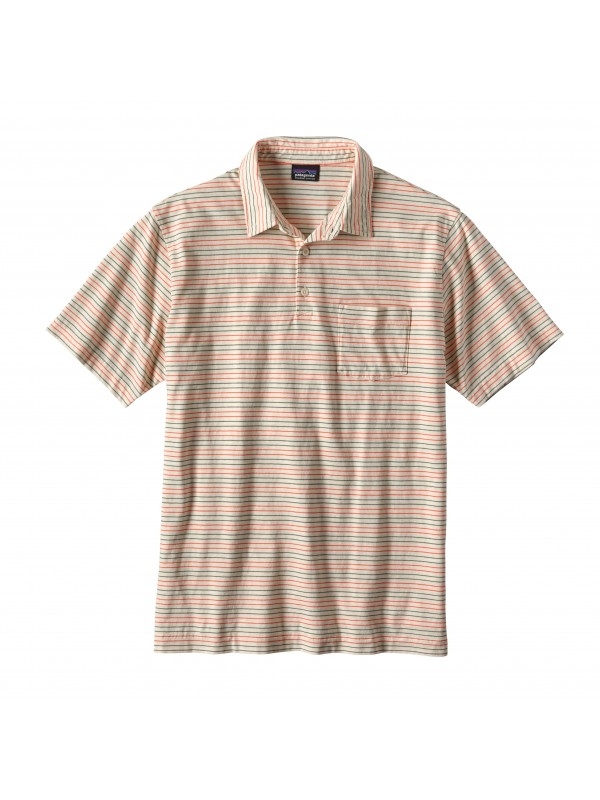 Patagonia Men's Toasted White Squeaky Clean Polo