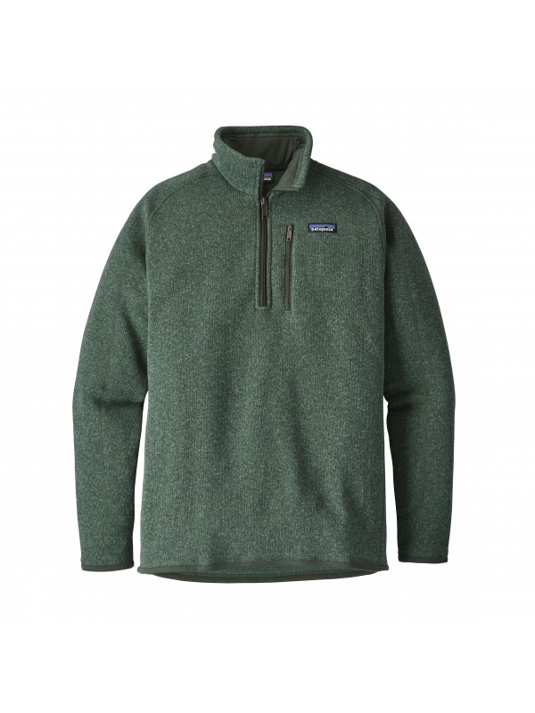 Patagonia Mens Pesto Better Sweater 1/4-Zip Fleece
