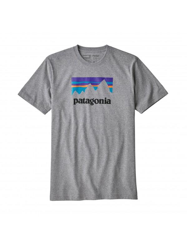 Patagonia Men's Gravel Heather Shop Sticker Responsibili-Tee®
