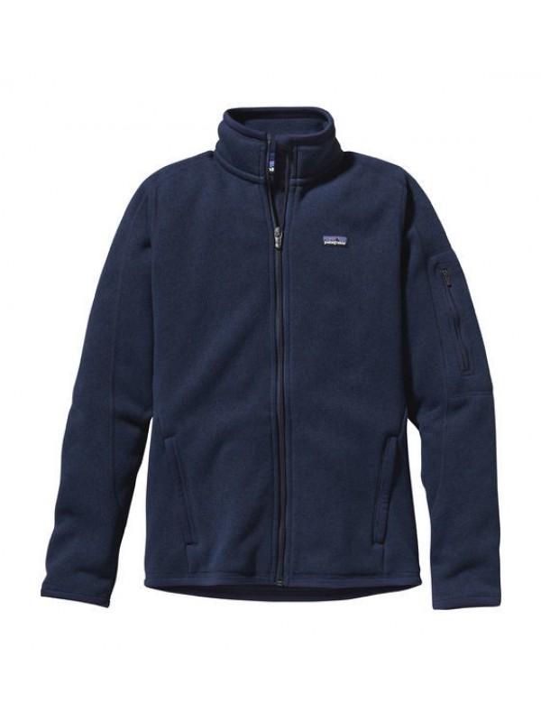 Patagonia Women's Better Sweater™ Fleece Jacket: Classic Navy