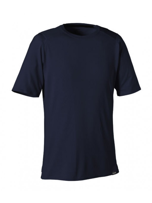 Patagonia Men's Navy Blue Capilene 1 Silkweight T-Shirt