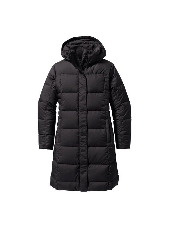 Patagonia Womens Black Down With It Parka