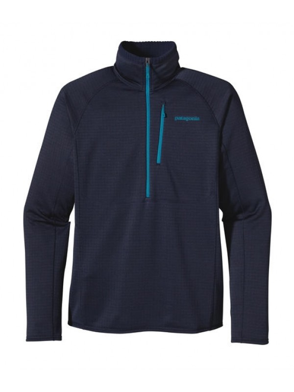 Patagonia Mens Navy Blue R1 Fleece Pullover