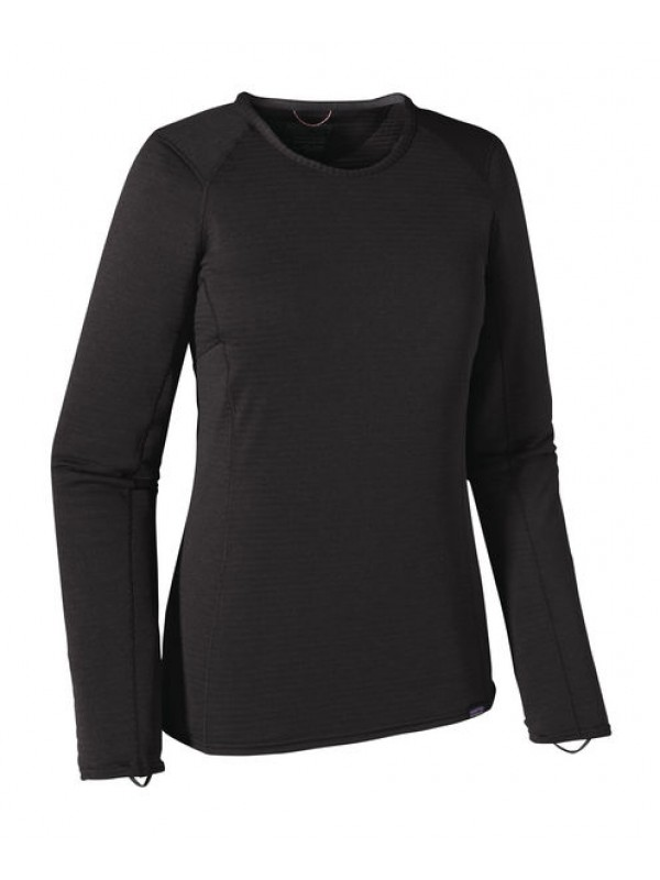 Patagonia Women's Capilene Thermal Weight Crew: Black