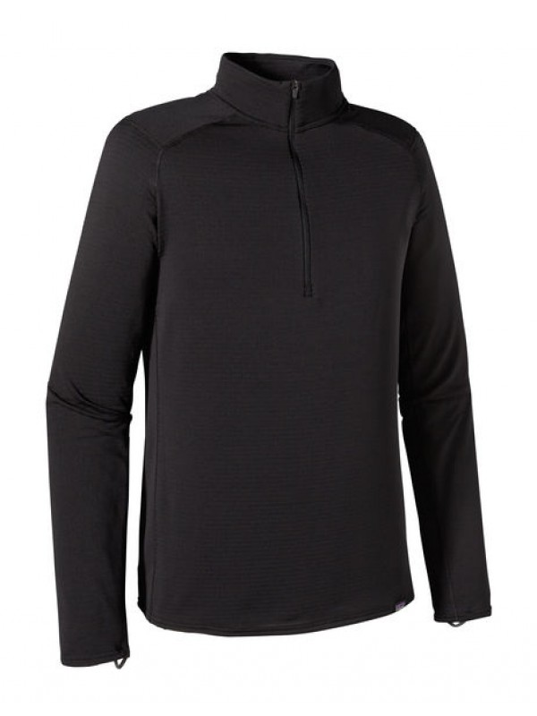 Patagonia Men's Capilene Thermal Weight Zip-Neck : Black