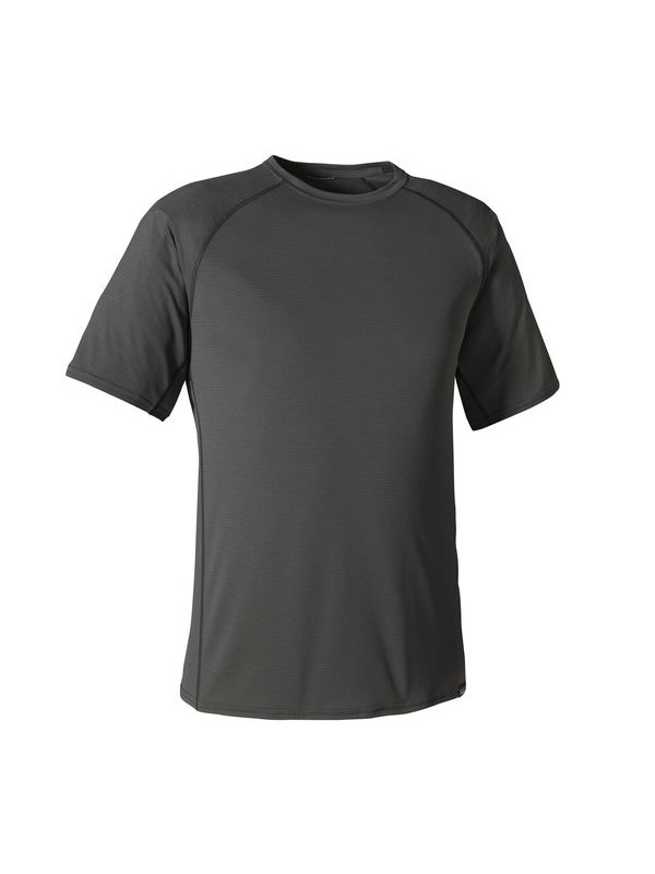 Patagonia Men's  Capilene Lightweight T-Shirt : Forge Grey