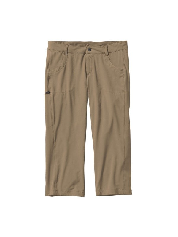 Patagonia Happy Hike Capris: Ash Tan