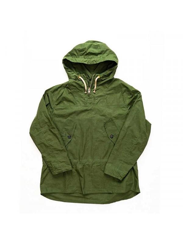 Yarmouth Oilskins Hooded Smock : Bottle Green