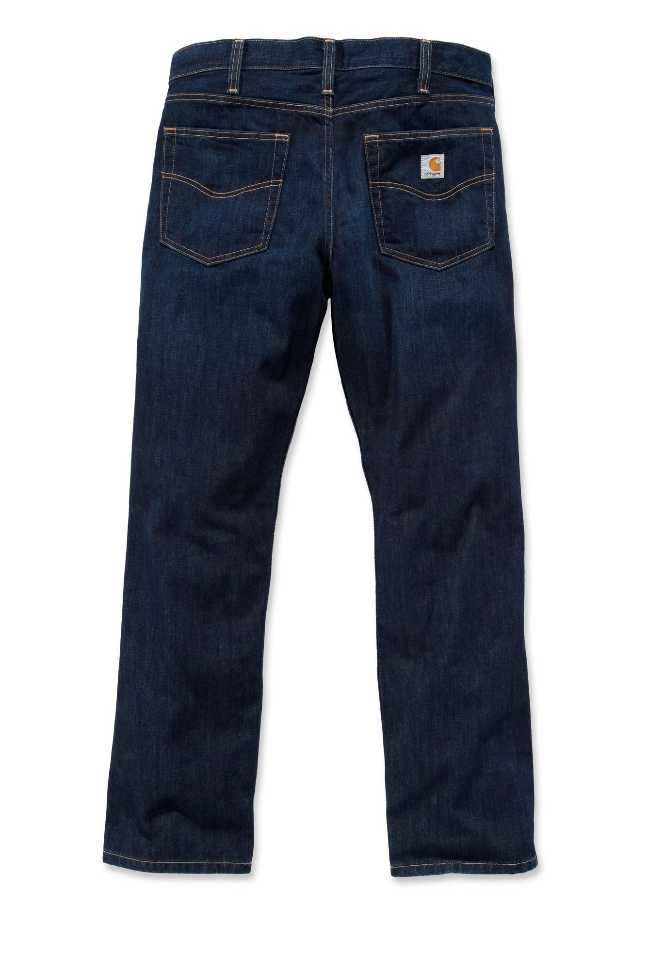 Carhartt Straight Leg Jeans : Weathered Indigo