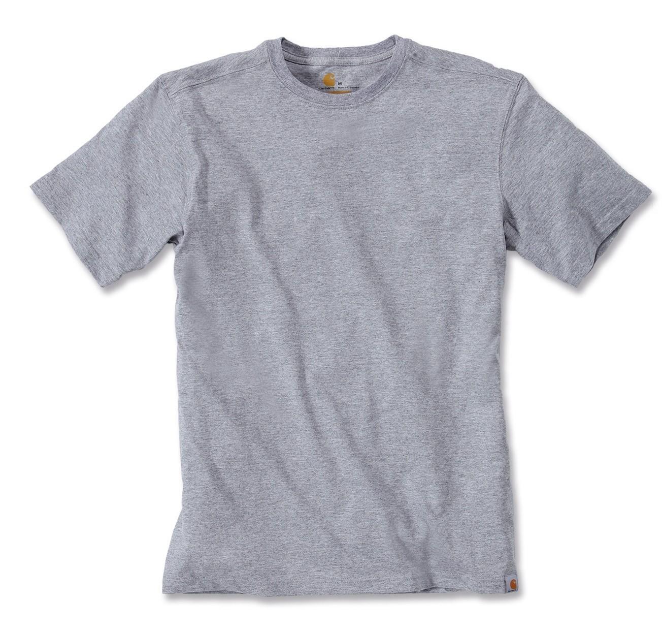 Carhartt Maddock T-Shirt : Heather Grey