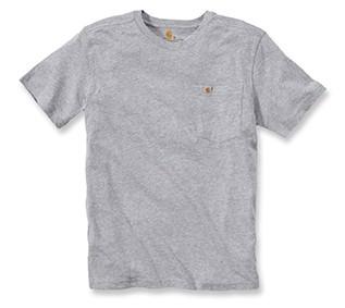 Carhartt Pocket T-Shirt :  Heather Grey