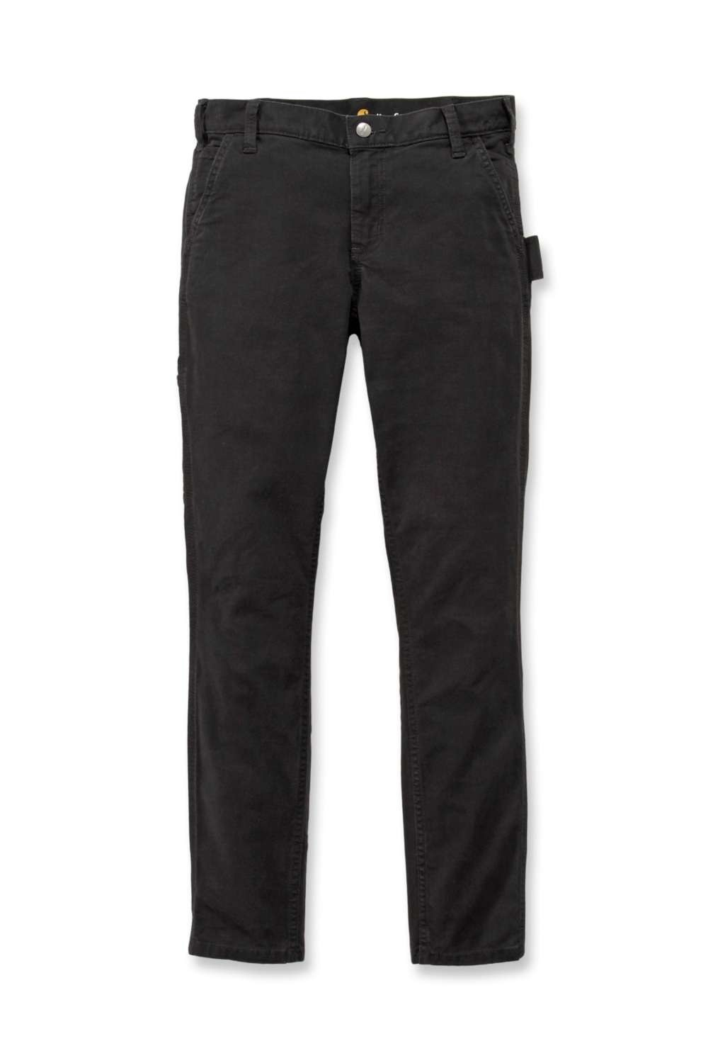 Carhartt Womens Slim-Fit Carpenter Pants: Black