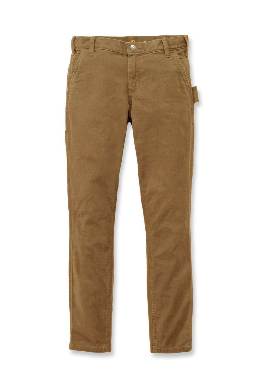 Carhartt Womens Slim-Fit Carpenter Pants: Yukon