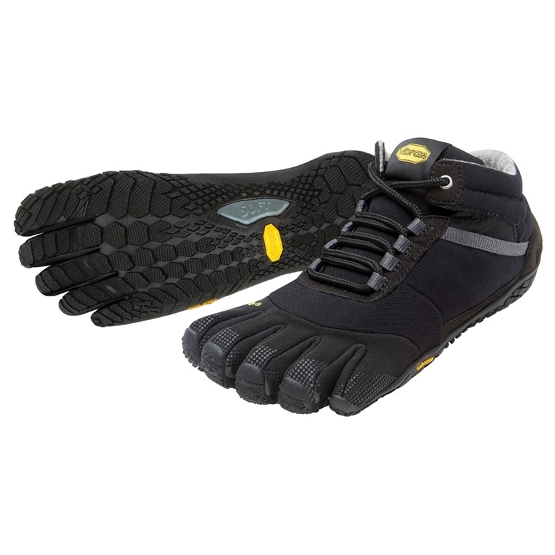 Vibram Five Fingers Trek Ascent Insulated : Black
