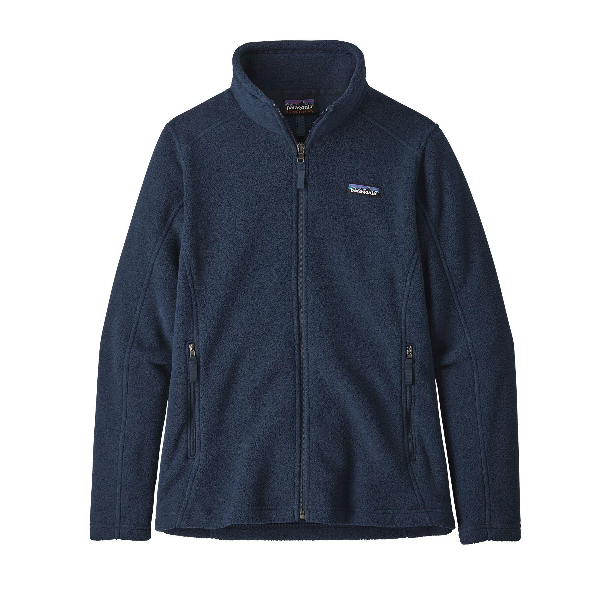 Patagonia Women's Classic Synchilla Fleece Jacket : New Navy