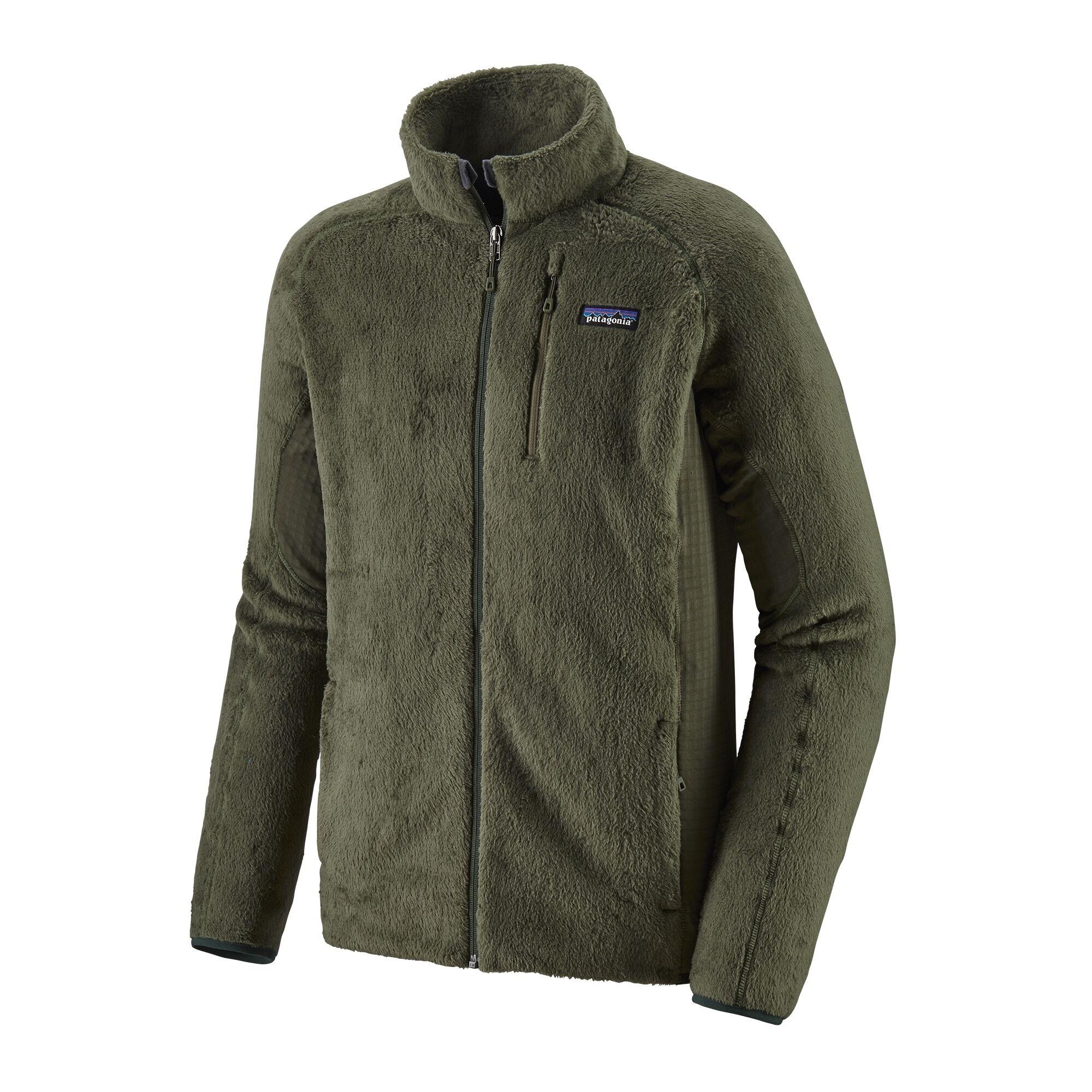Patagonia Mens R2 Fleece Jacket : Industrial Green