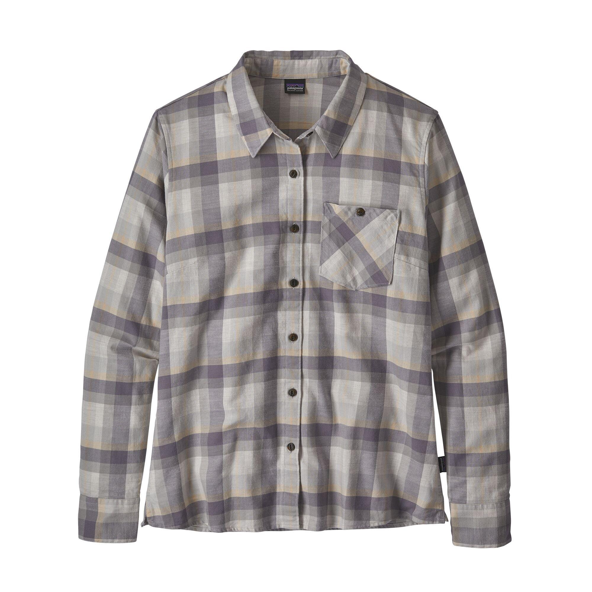 Patagonia Heywood Flannel Shirt Basket: Drifter Grey