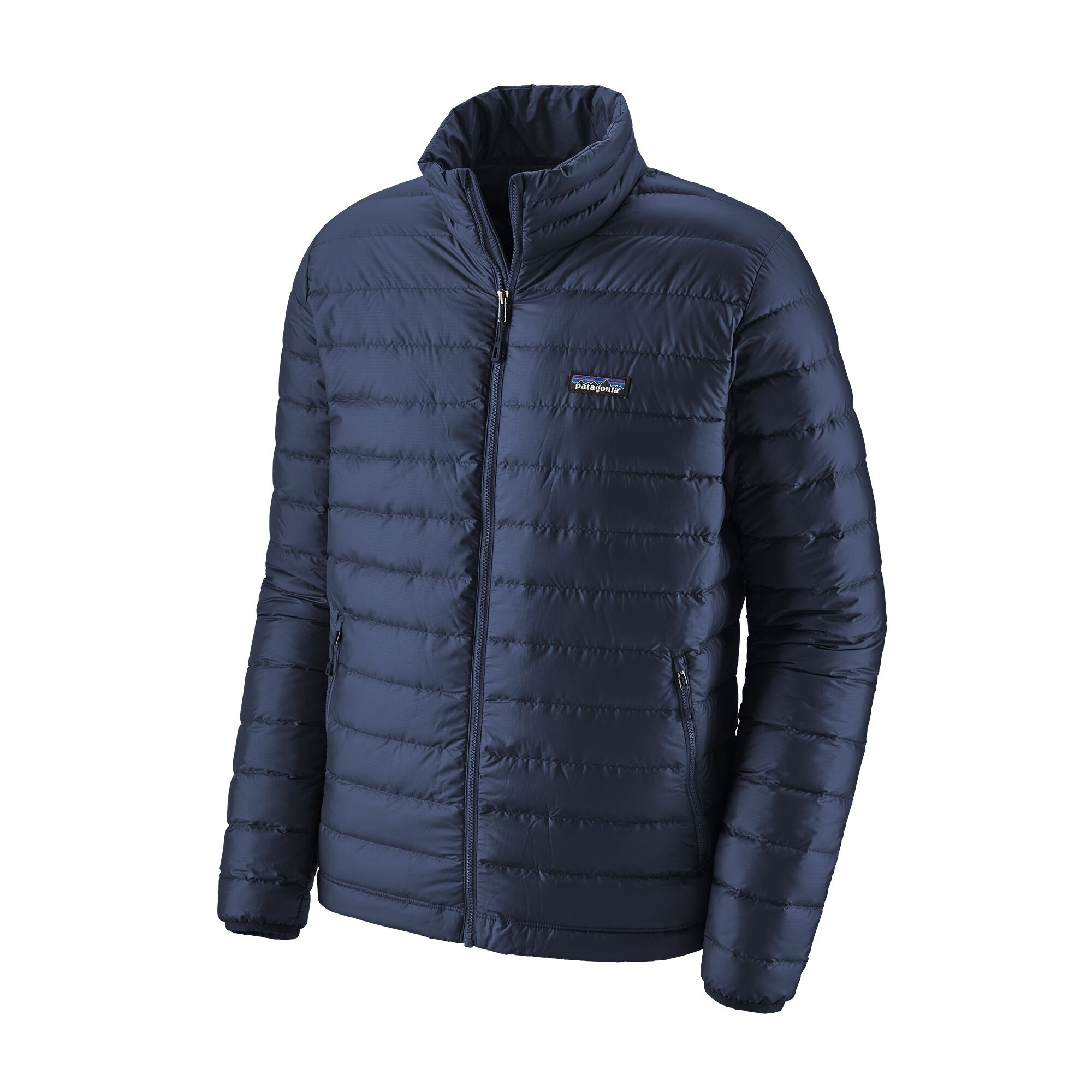 Patagonia Down Sweater : Classic Navy w/Classic Navy