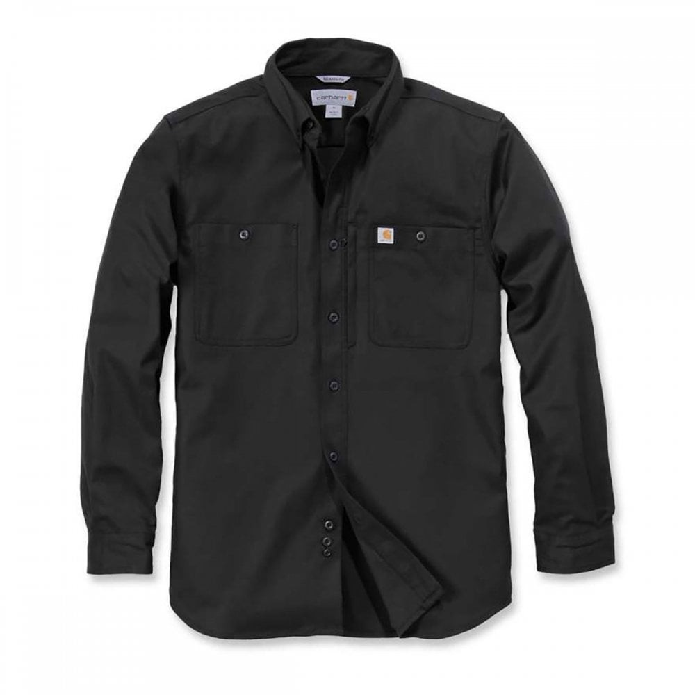 Carhartt Long Sleeved Utility Shirt : Black