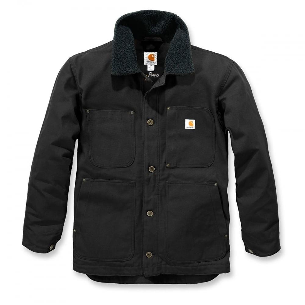 Carhartt Full Swing Chore Coat : Black