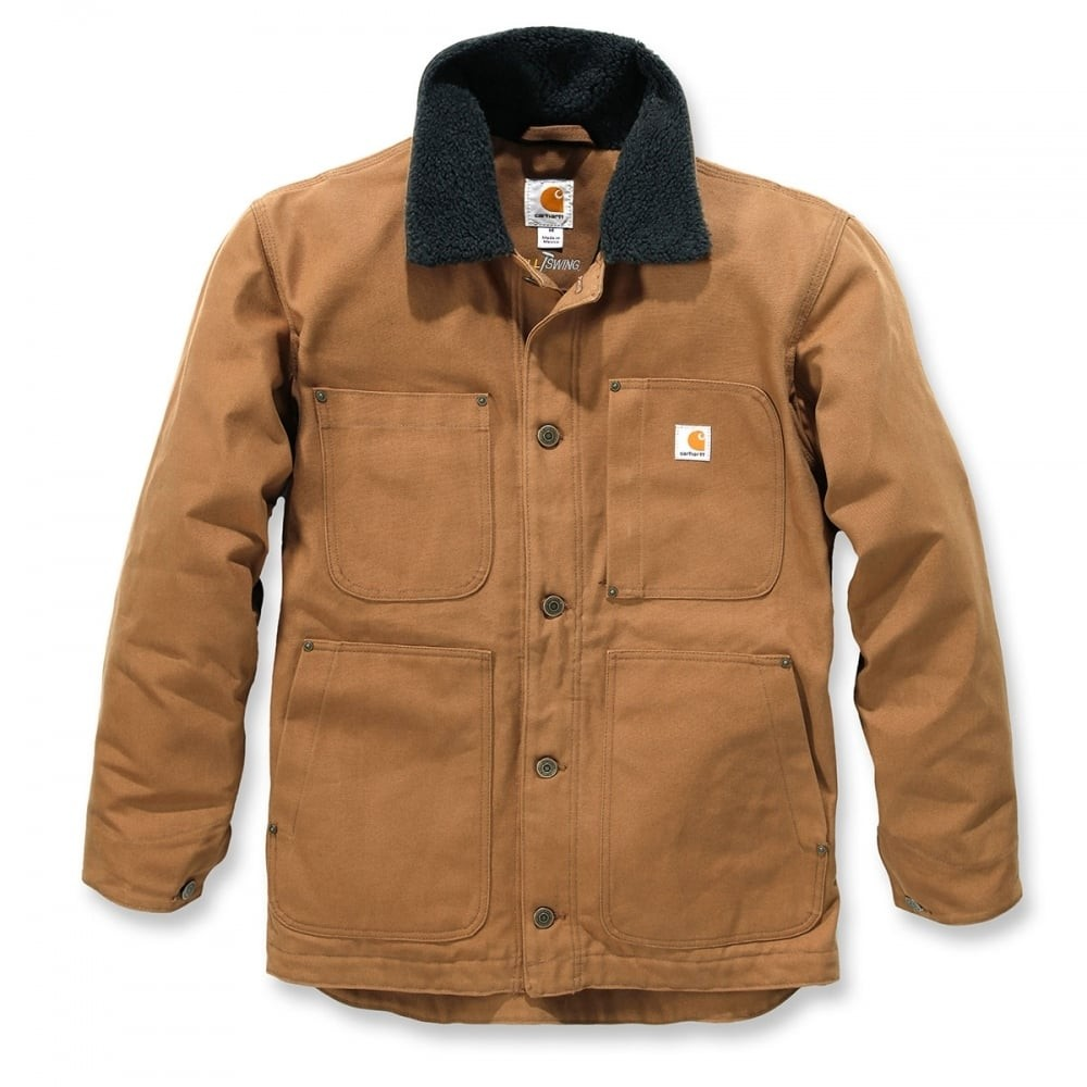 Carhartt Full Swing Chore Coat : Brown
