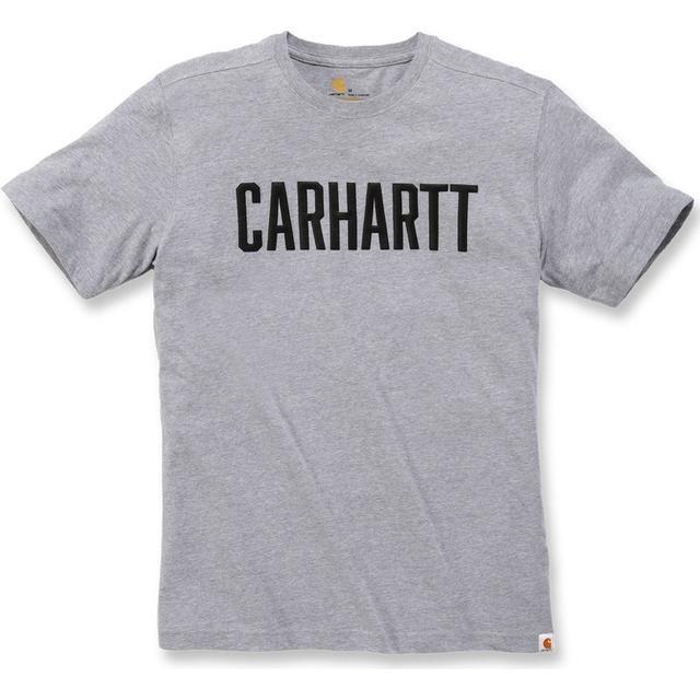 Carhartt Southern Block Logo T-Shirt : Heather Grey