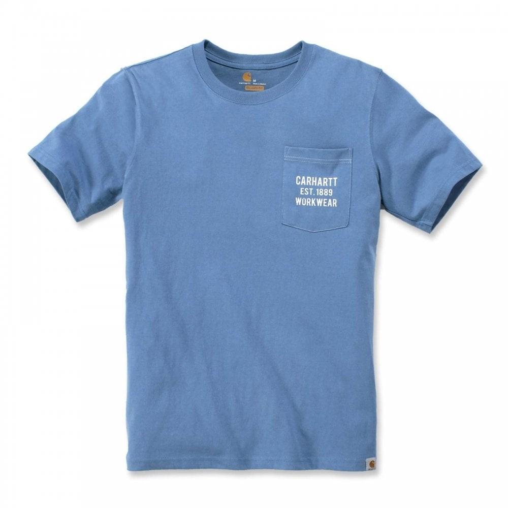 Carhartt Workwear Pocket Graphic T-Shirt : French Blue