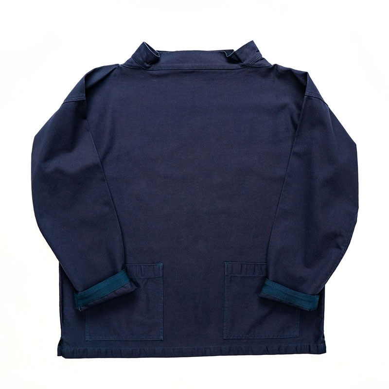 Yarmouth Oilskins Classic Smock : Navy