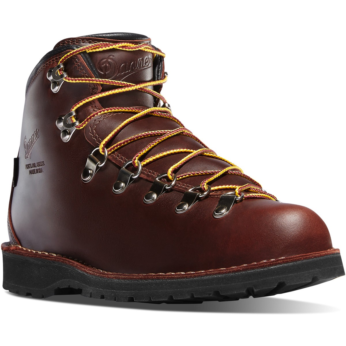Danner Mountain Pass Hiking Boot Dark Brown