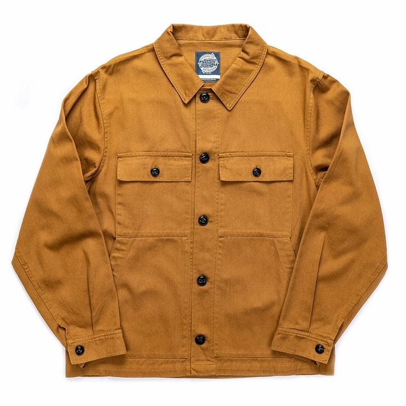 Yarmouth Oilskins Drivers Jacket – Khaki