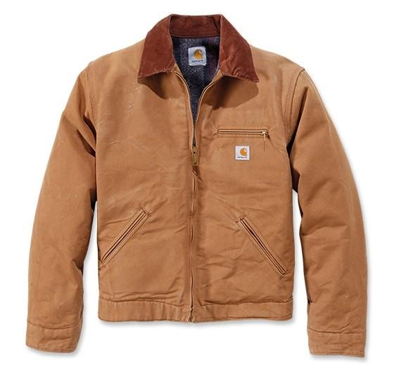Carhartt Duck Detroit Jacket : Brown