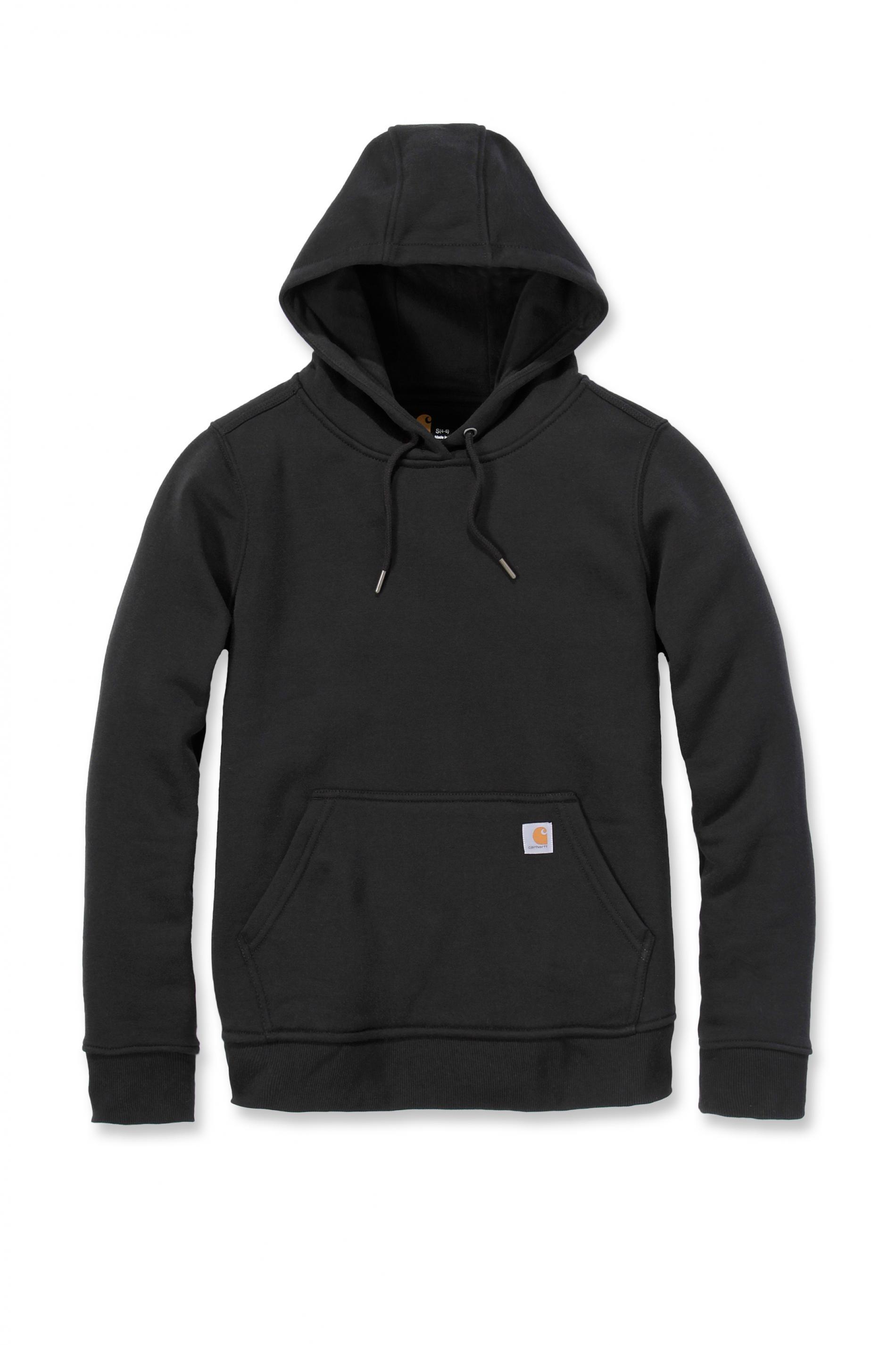 Carhartt Womens Pullover Sweatshirt Hoody : Black