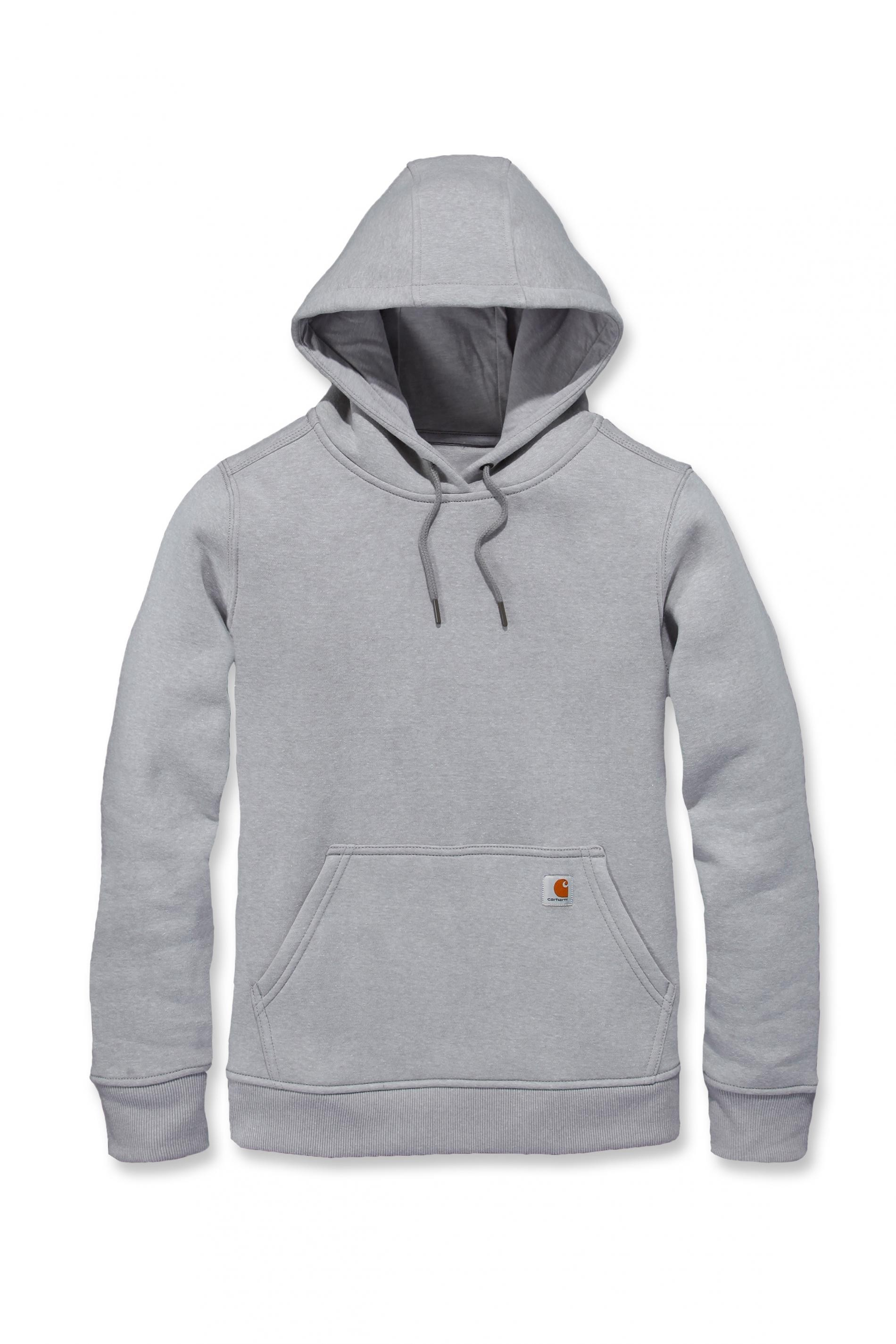 Carhartt Womens Pullover Sweatshirt Hoody : Asphalt Heather