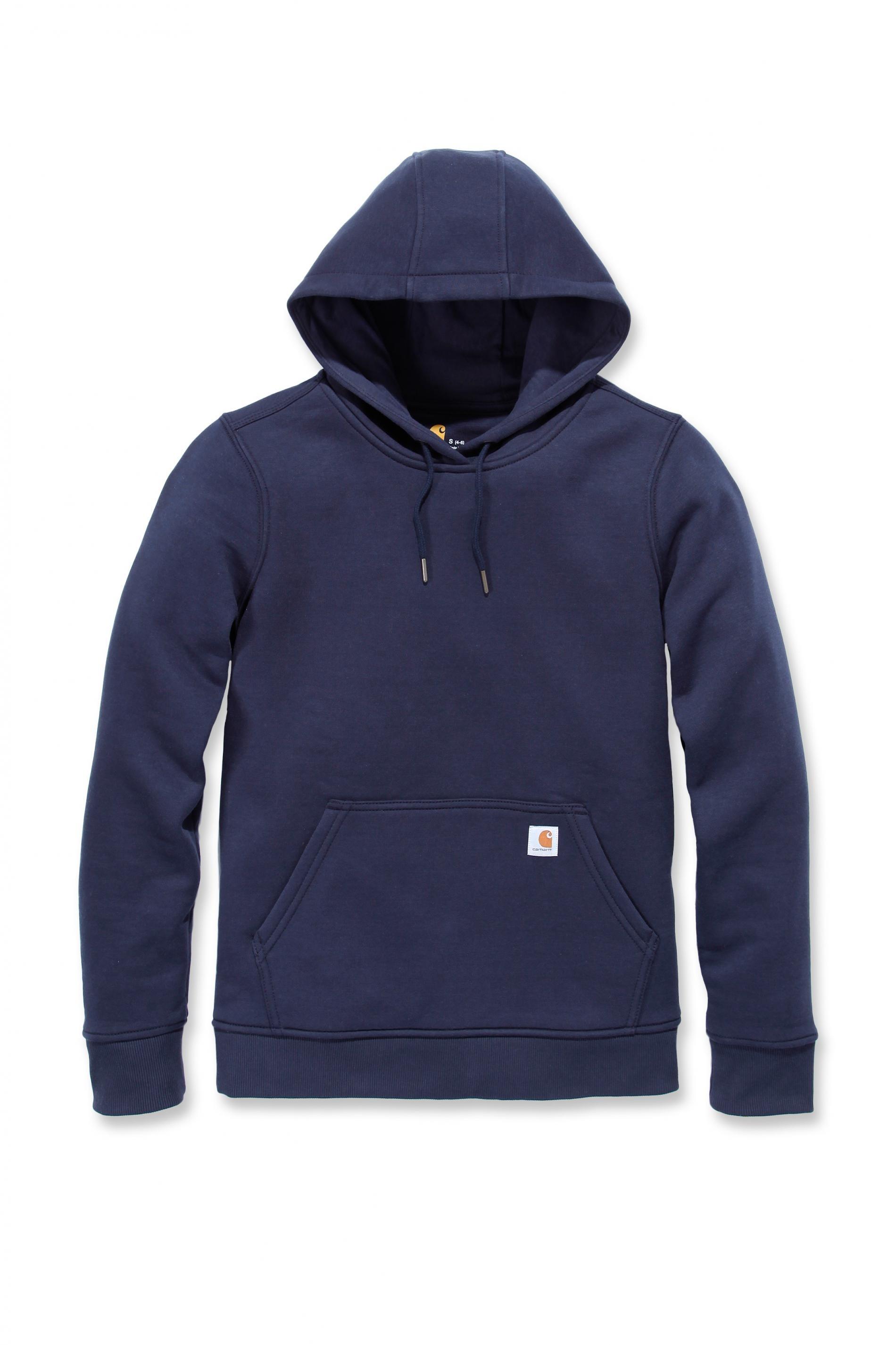Carhartt Womens Pullover Sweatshirt Hoody: Navy